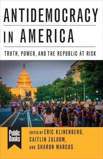 Antidemocracy in America - Truth Power and the Republic at Risk - cover