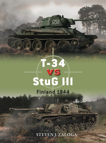 T-34 vs StuG III - Finland 1944 - cover