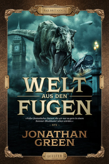 WELT AUS DEN FUGEN - Abenteuer Fantasythriller - cover