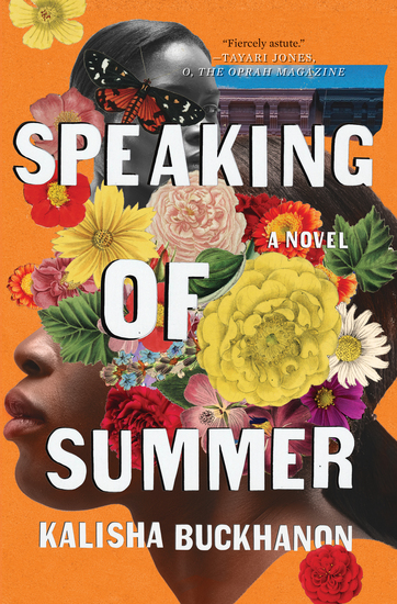 Speaking of Summer - A Novel - cover