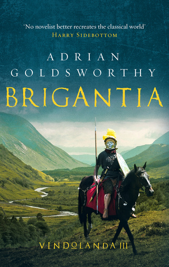Brigantia - An authentic and action-packed historical adventure set in Roman Britain - cover