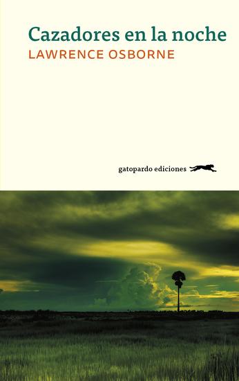 Cazadores en la noche - cover