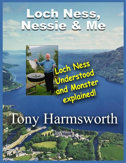 Loch Ness Nessie and Me - cover