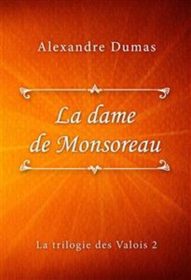 La dame de Monsoreau - cover
