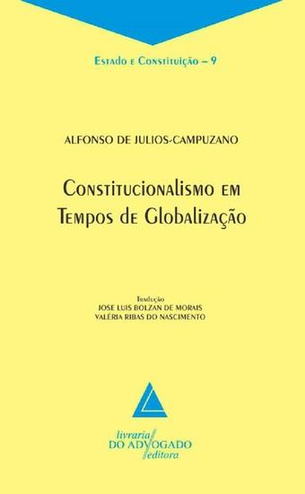 Constitucionalismo Em Tempos De Globalização: - cover