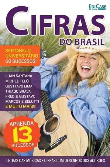 Cifras Do Brasil Ed 12 - Sertanejo Universitário - cover