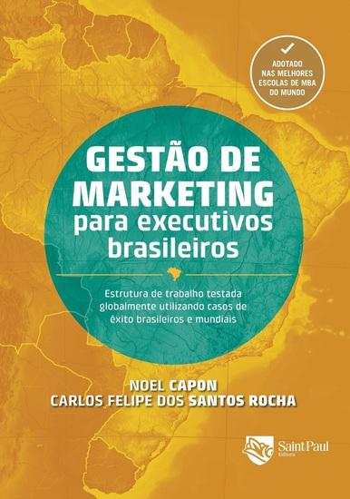 Gestão de marketing para executivos brasileiros - cover