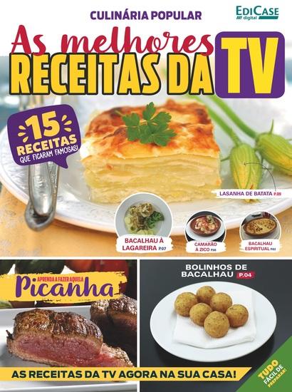 Culinária Popular Ed 1 - As Melhores Receitas da TV - cover
