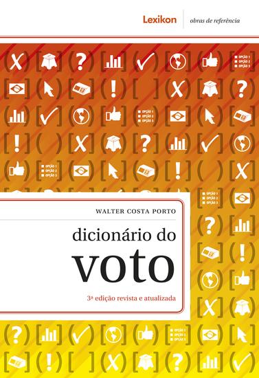Dicionário do voto - cover