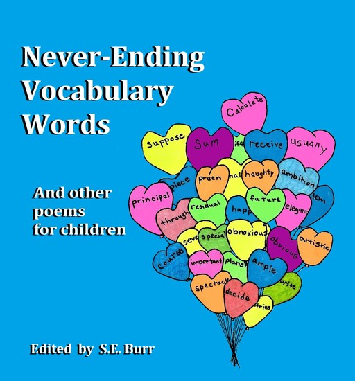 Never-Ending Vocabulary Words - And other poems for children - cover