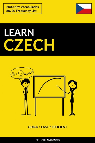 Learn Czech - Quick Easy Efficient - 2000 Key Vocabularies - cover
