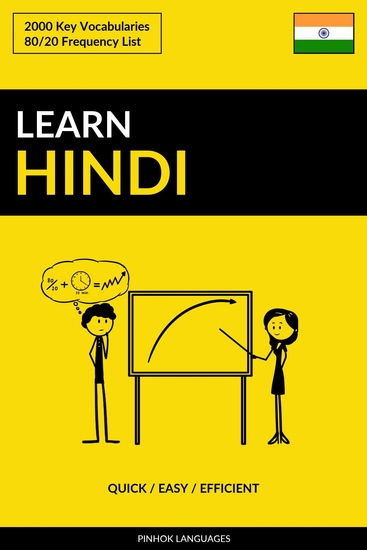 Learn Hindi - Quick Easy Efficient - 2000 Key Vocabularies - cover
