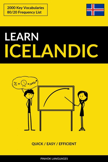 Learn Icelandic - Quick Easy Efficient - 2000 Key Vocabularies - cover