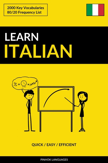 Learn Italian - Quick Easy Efficient - 2000 Key Vocabularies - cover