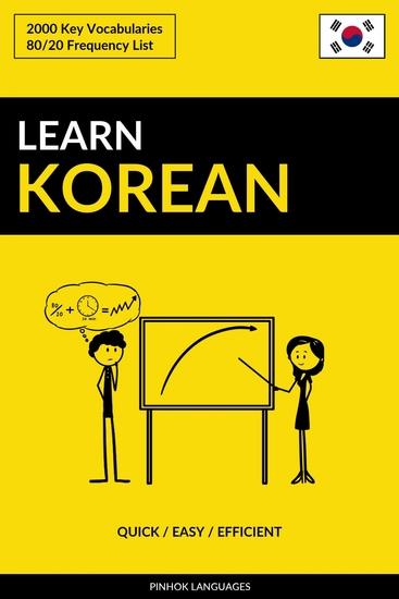 Learn Korean - Quick Easy Efficient - 2000 Key Vocabularies - cover