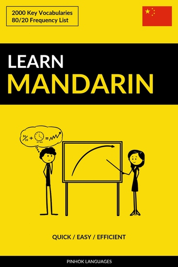 Learn Mandarin - Quick Easy Efficient - 2000 Key Vocabularies - cover