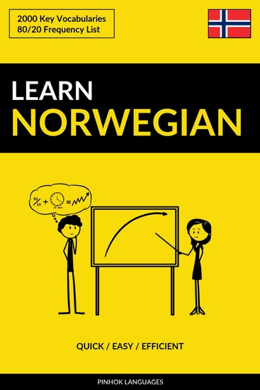 Learn Norwegian - Quick Easy Efficient - 2000 Key Vocabularies - cover