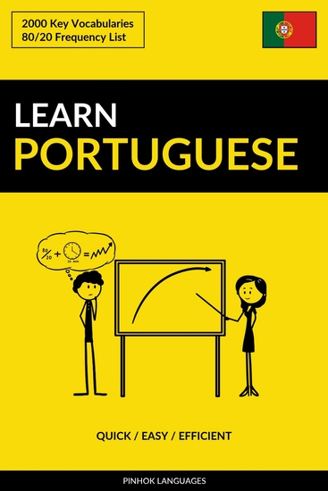Learn Portuguese - Quick Easy Efficient - 2000 Key Vocabularies - cover