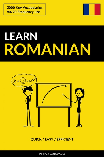 Learn Romanian - Quick Easy Efficient - 2000 Key Vocabularies - cover