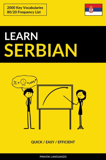 Learn Serbian - Quick Easy Efficient - 2000 Key Vocabularies - cover