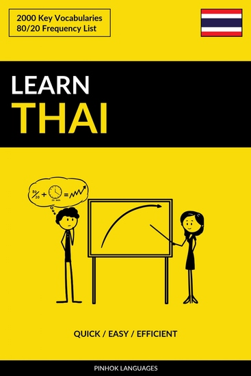 Learn Thai - Quick Easy Efficient - 2000 Key Vocabularies - cover