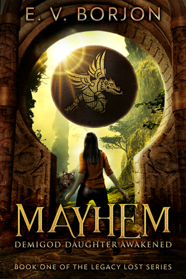 Mayhem - Demigod Daughter Awakened - cover
