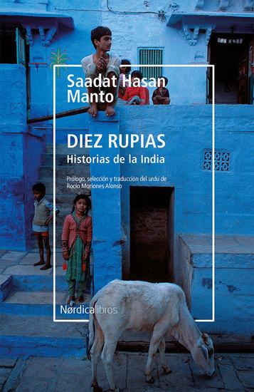 Diez rupias Historias de la India - cover