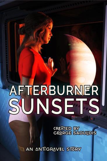 Afterburner Sunsets - Antigravel - cover