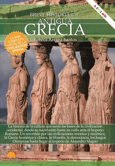 Breve historia de la antigua Grecia - cover