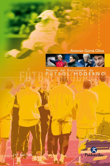 Manual del entrenador de fútbol moderno - cover