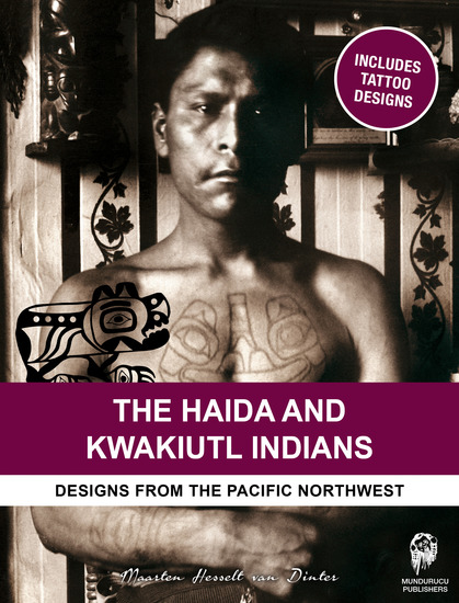 The Haida & Kwakiutl Indians - Designs from the Pacific Northwest - cover