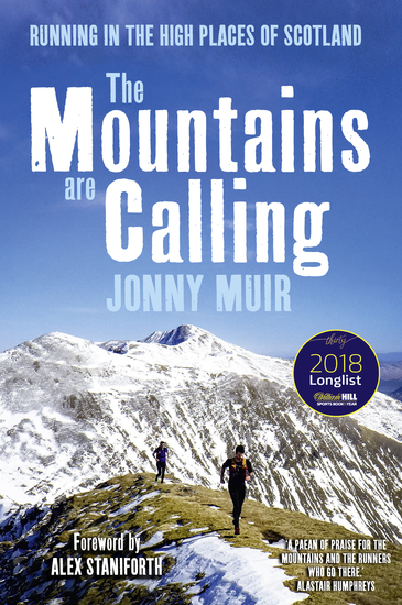The Mountains are Calling - Running in the High Places of Scotland - cover