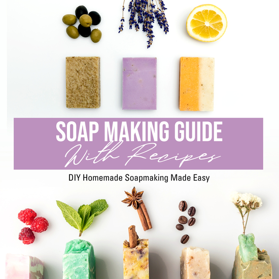 Soap Making Guide With Recipes: DIY Homemade Soapmaking Made Easy - DIY Homemade Soapmaking Made Easy - cover