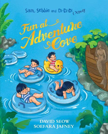 Sam Sebbie and Di-Di-Di & Xandy: Fun at Adventure Cove - Sam Sebbie and Di-Di-Di #9 - cover