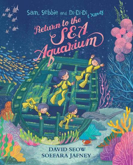 Sam Sebbie and Di-Di-Di & Xandy: Return to the SEA Aquarium - Sam Sebbie and Di-Di-Di #7 - cover