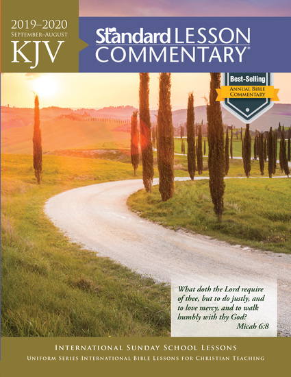 KJV Standard Lesson Commentary® 2019-2020 - cover