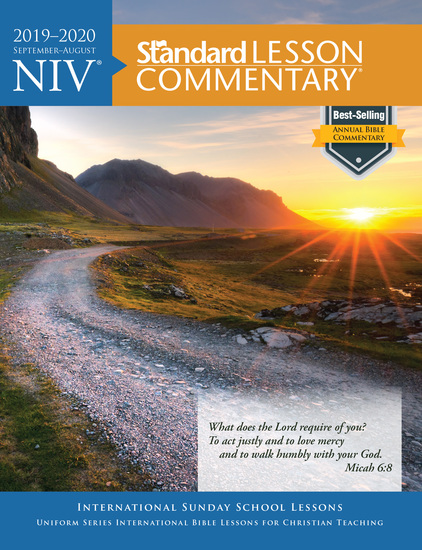 NIV® Standard Lesson Commentary® 2019-2020 - cover