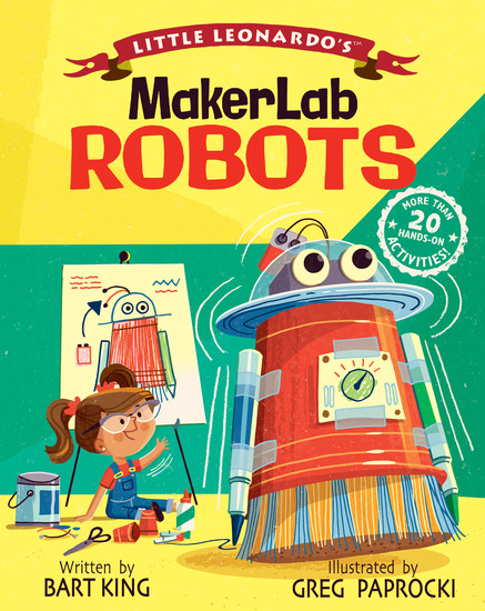 Little Leonardo's MakerLab - Robots - cover