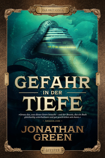 GEFAHR IN DER TIEFE - Abenteuer Fantasythriller - cover