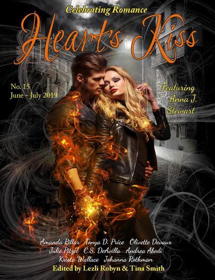 Heart's Kiss: Issue 15 June-July 2019: Featuring Anna J Stewart - Heart's Kiss #15 - cover