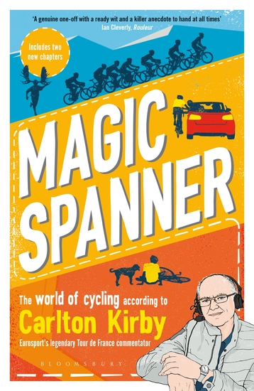 Magic Spanner - SHORTLISTED FOR THE TELEGRAPH SPORTS BOOK AWARDS 2020 - cover