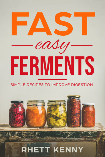 Fast Easy Ferments - Simple Recipes To Improve Digestion - cover