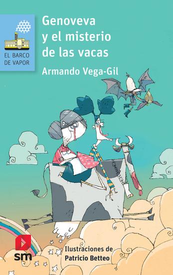 Genoveva y el misterio de las vacas - cover