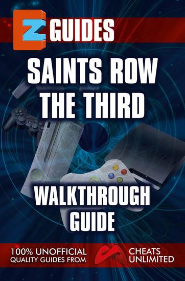 Saints Row The Third - walkthrough guide - cover