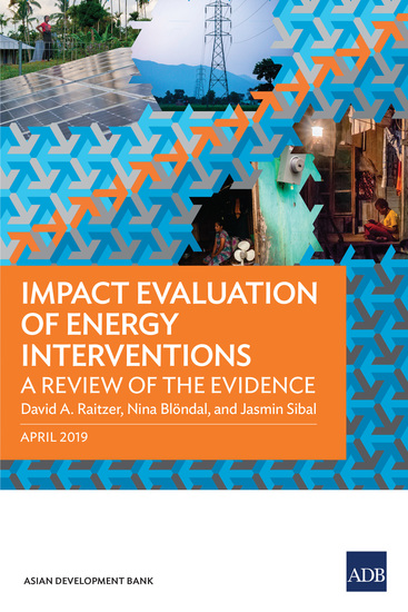Impact Evaluation of Energy Interventions - A Review of the Evidence - cover