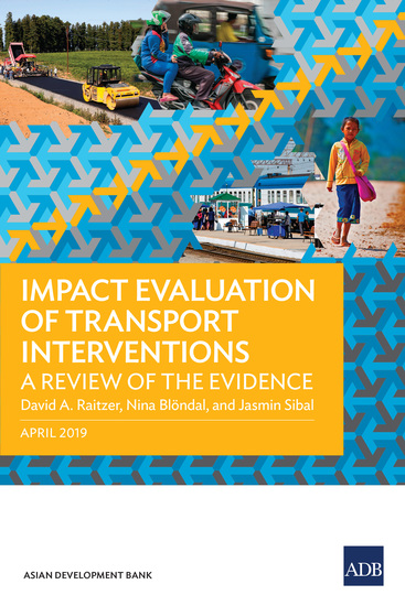 Impact Evaluation of Transport Interventions - A Review of the Evidence - cover