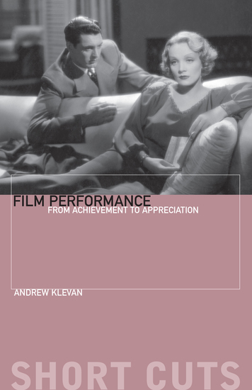 Film Performance - From Achievement to Appreciation - cover