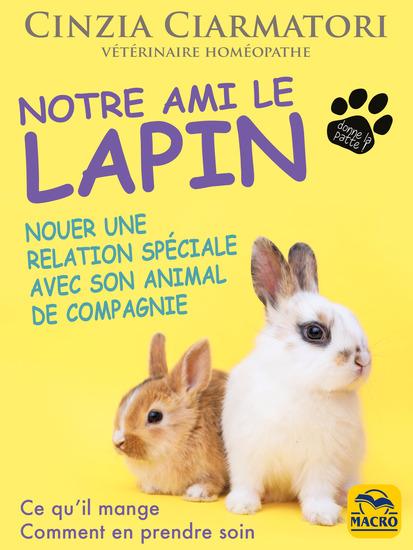 Notre ami le lapin - Nouer une relation spéciale avec son animal de compagnie - cover