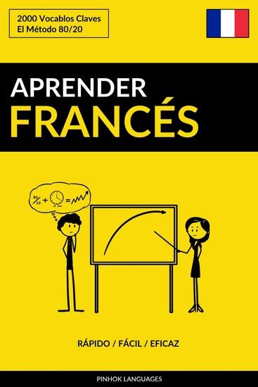 Aprender Francés - Rápido Fácil Eficaz - 2000 Vocablos Claves - cover