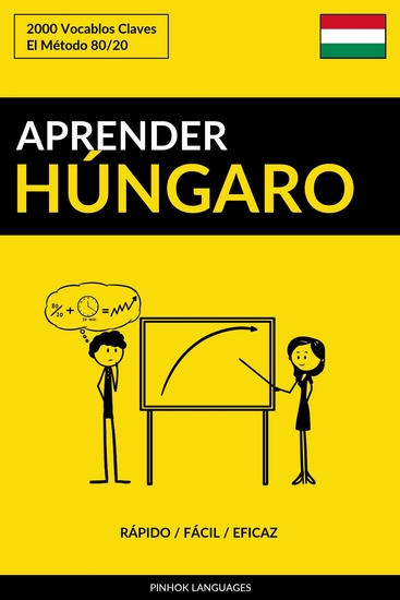 Aprender Húngaro - Rápido Fácil Eficaz - 2000 Vocablos Claves - cover